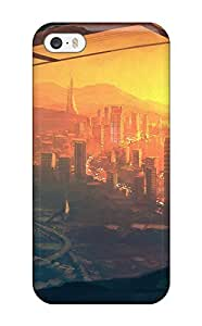 Awesome NfoLluI4691IuVZv Jonathan J Harris Defender Tpu Hard Case Cover For Iphone 5/5s- City