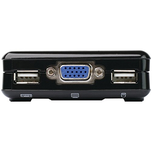 Compact Switch - IOGEAR 2-Port Compact USB VGA KVM with Built-in Cables, GCS42UW6