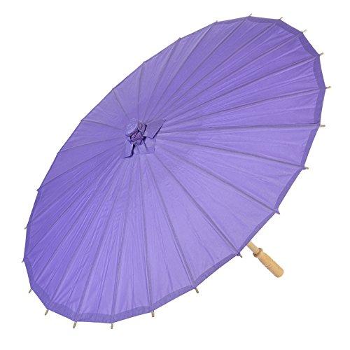 Quasimoon Purple Parasol Umbrella PaperLanternStore