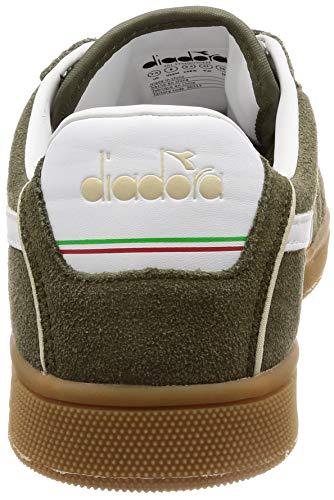 Verde verde Kick Scarpe Diadora 70431 E Per Sportive Donna Bruciato Uomo Oliva Z0WqWSwn