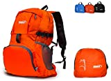 SBZ Outdoors Durable Lightweight Foldable Packable Backpack By For Hiking, Camping, Daypack, and Travel.
