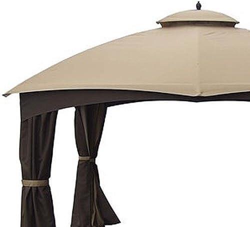 Jardín Vientos toldo de Repuesto para cenador de cúpula de AR Rip Lock 500: Amazon.es: Jardín