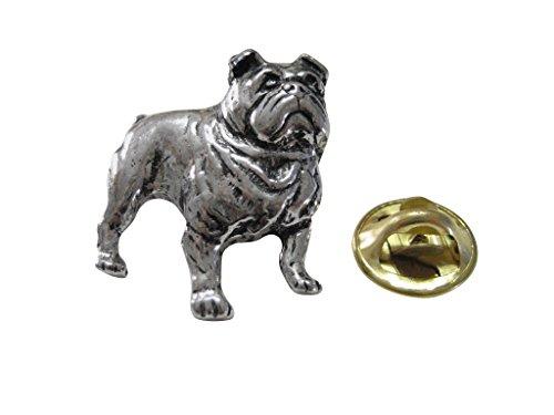 - Kiola Designs British Bulldog Lapel Pin