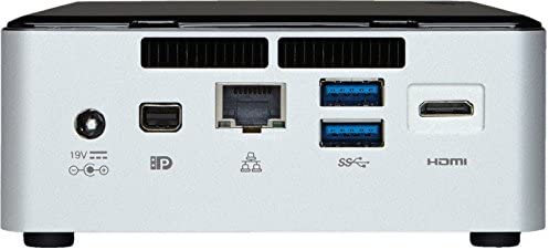 Intel Nuc Desktop/HTPC, 5th Generation Intel Dual-Core i5 Upto 2.7GHz, 8GB DDR3, 240GB SSD, Wifi, Bluetooth, Dual Monitor Capable, 4K Support, Windows 10 Professional 64Bit   Amazon