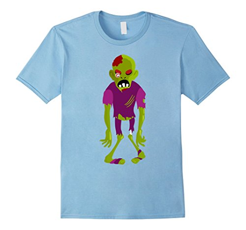 Zombie Outfit Ideas (Mens Bloody Zombie T Shirt For Halloween Party Tee 2017 Gift Idea Medium Baby)