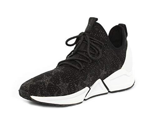 Antico Cenere Nero Sneaker Thyra Argento WAqAHaZn