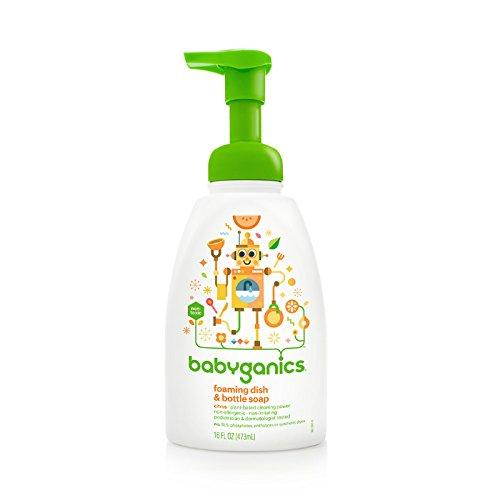 BabyGanics - Foaming Dish & Bottle Soap The Dish Dazzler Citrus - 16 oz. (Babyganics Dish)