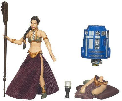 Star Wars 2009 Legacy Collection BuildADroid Action Figure BD No. 17 Princess Leia