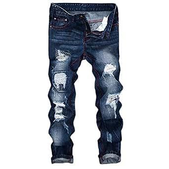 Pantalones Vaqueros Hombres Rotos ♚ Absolute Pantalones ...