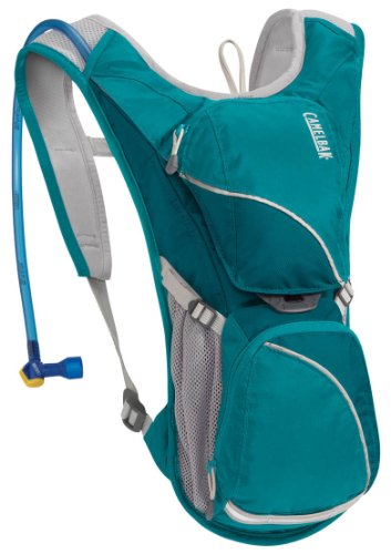 Camelbak Backpack – Camelbak Women's Aurora Road Hydration Backpack, Capri Breeze/Ocean Depths, 70-Ounce, Outdoor Stuffs