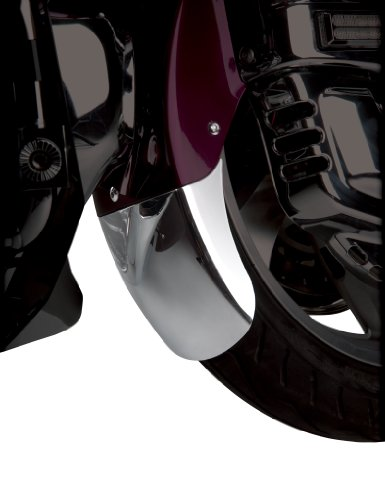 Show Chrome Accessories 52-749 Tapered Front Fender Extension Chrome Front Fender Extension