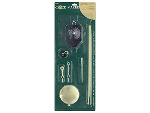 Wood Clock Kits (Darice Clock Kit-Short Pendulum with Hands)