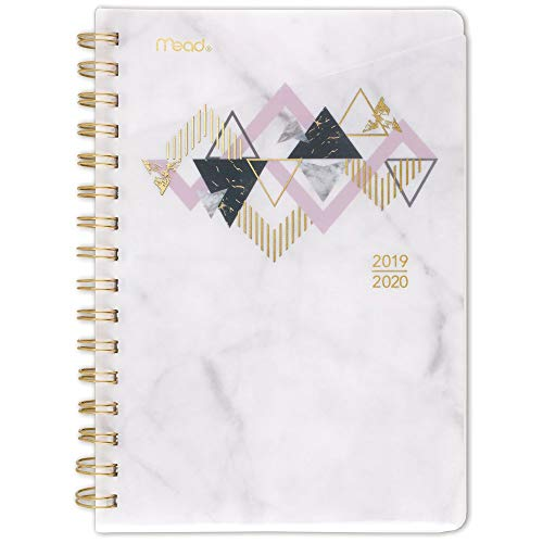 Mead 2019-2020 Academic Year Weekly & Monthly Planner, Small, 5-3/4