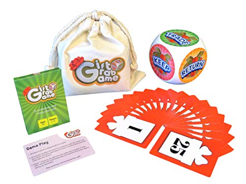 The Gift Grab Game- New Exchange Game for Families, Office, Friends, Church, or Any Large Group