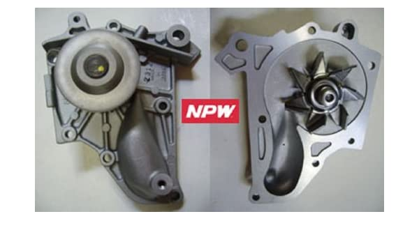 Amazon.com: NPW Toyota T-87 Water pump for 87-01 TOYOTA CAMRY CELICA MR2 RAV4 SOLARA 2.0L 2.2L: Automotive