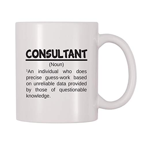 4 All Times Consultant Noun Coffee Mug (11 oz)