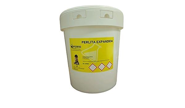 PEQUINSA Perlita expandida.Tamaño Fino. Envase 20 litros.: Amazon.es: Jardín