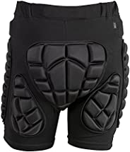 TTIO Padded Shorts-3D Hip Butt Pad-EVA Protective Gear Soft Breathable Lightweight Sportswear