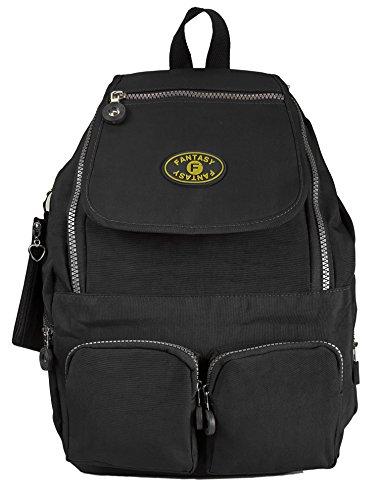 GFM Mehrzweck-Rucksack aus Stoff, leicht, klein Gr. M, Style 8 - Black (507KL) Style 0 - Black (3007KL)