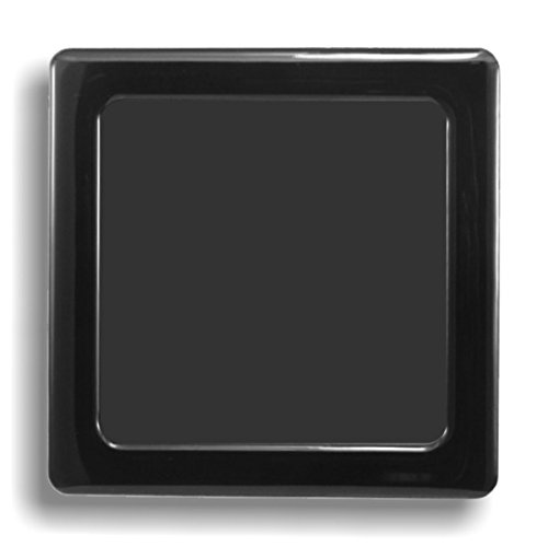 DEMCiflex Computer Dust Filter, Standard 80mm Square, Black Frame, Black Mesh Best 80 Mm Case Fan