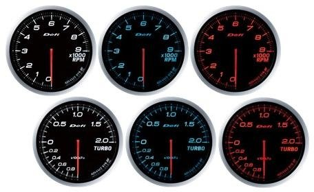 Defi Advance Bf Amber 60Mm 30Psi Boost Gauge (Imperial) By Jm Auto Racing (Df09904) ()