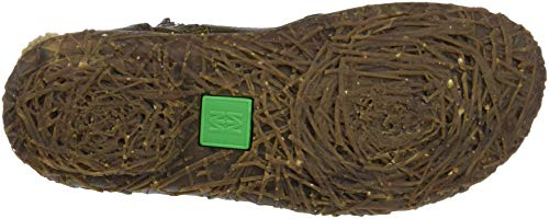 Grain N758 Olive Verde Botines Lux El Olive Naturalista Mujer para Soft Tqxw5awzp