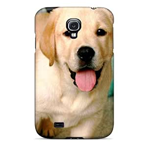 New Happy Labrador Skin Case Compatible With Galaxy S4