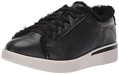 Gentle Souls Womens GSF8018LE Haddie Cozy Lace-up Sneaker Black Size: 6