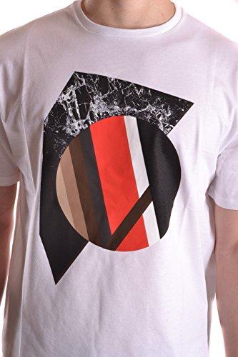 Neil Barrett T-Shirt Uomo BJT182EE548S607 Cotone Bianco