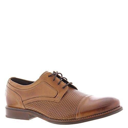 Rockport Men's Wyat Cap Toe Shoes Cognac Leather cheap sale countdown package umNQHxkf