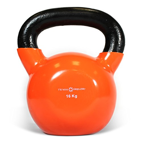 Fitness Republic Vinyl Coated Kettlebells