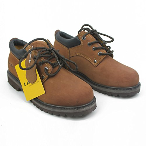 Labo Hombres Working Zapatos 423brown-10.5w