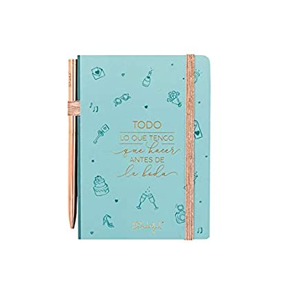 Amazon.com: Mr. Wonderful Wedding Organiser Notebook ...
