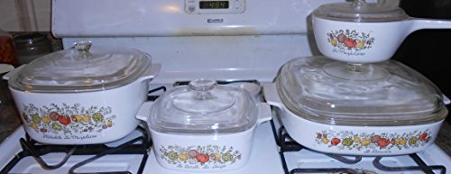 Corning Ware Spice of Life 8 Piece Cook and Serve Set