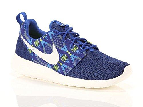 - NIKE NIKE Zapatos ROSHE ONE PRINT Azul y Amarillas A Los 655206-410-300422 2016 /