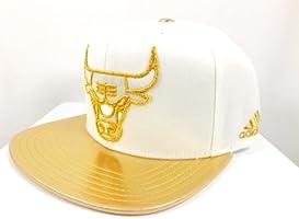 7e3a515dd3e Adidas Chicago White Bulls Gold Logo Snapback Cap Hat. Loading Images.