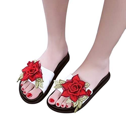 Piatti Da Bianca Antiscivolo Donna Slip On Spiaggia Pantofole Innerternet Estivi Sandali Scarpe Ef6qZZ