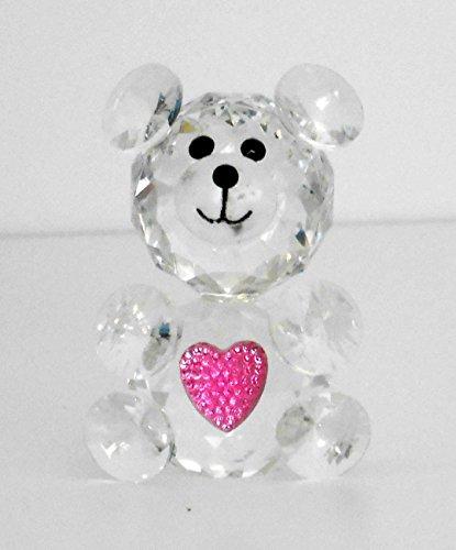 - Crystal Teddy Bear, Gift, Favor for Girls, Home Decorative # 1615