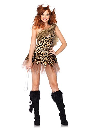Leg Avenue Womens Cave Girl Cutie Adult Costume (Med/Large)