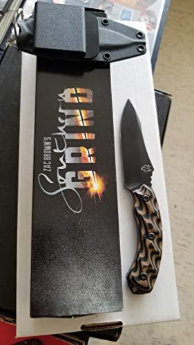 Handle Length Blade - 2017 SOUTHERN GRIND JACKAL FIXED BLADE KNIFE-JACK BROWN'S-8670M STEEL 9.25