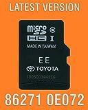 0E183 2014 2015 2016 Toyota Camry Highlander Tundra Tacoma Corolla Avalon Sequoia Rav4 4-runner Navigation Micro SD Card ,Map Update chip , GPS , 86271-0E183 , OEM PART