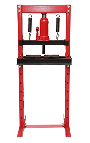 20 Ton Shop Press (Torin Big Red T51201 Steel Frame Hydraulic Shop Press, 12 Ton Capacity)