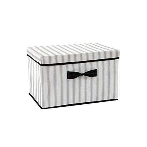 (LIANNA Non-woven wardrobe storage box children's toy storage box Clothing storage box fabric folding clothes storage box (Black))