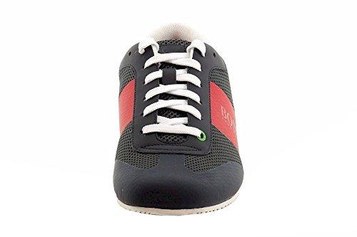 Hugo Boss Men's Light Air Open Grey Mesh Fashion Sneakers Shoes Sz: 10