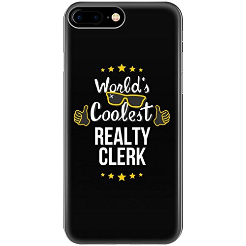 World's Coolest Realty Clerk - Phone Case Fits iPhone 6 6s 7 8