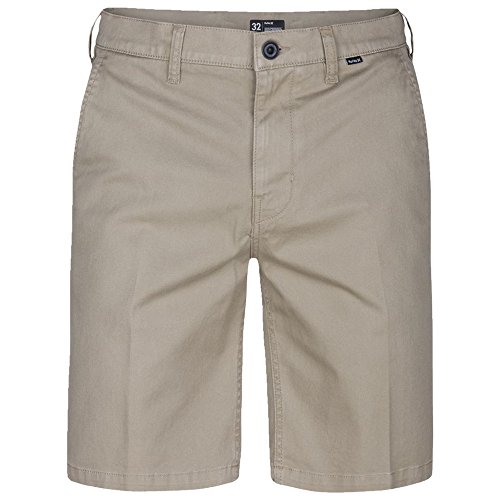 Hurley Mens One and Only2.0 Chino Walkshort (32, Khaki)