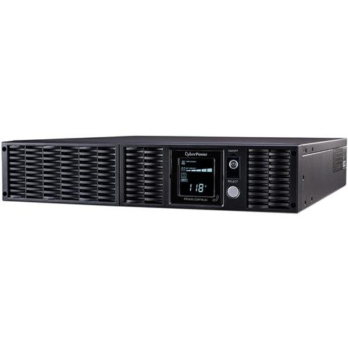 (CyberPower PR3000LCDRTXL2U Smart App Sinewave UPS System, 3000VA/3000W, 8 Outlets, AVR, 2U Rack/Tower)