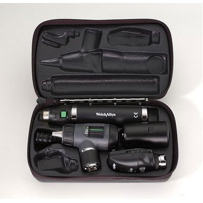 (Key Components: Coaxial Ophthalmoscope (Head only) #11720; Halogen Lamp #04900-U; Operating Otoscope, No Specula (Head only) #21701; Halogen Lamp #03100-U; 5 Specula Set #22100; Direct Plug-in)
