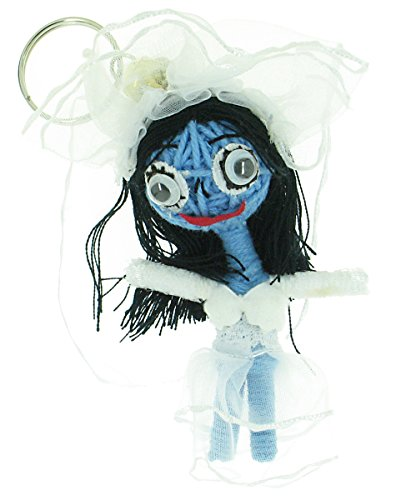 Corpse Bride Voodoo String Doll Keyring Keychain