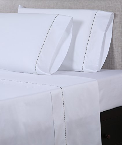 picture of Embroidered Sheet Set with a Gorgeous Dot Pattern- Affluence Home Fashions